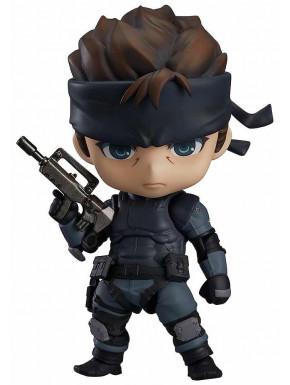 Figura Solid Snake Metal Gear Nendoroid 10 cm