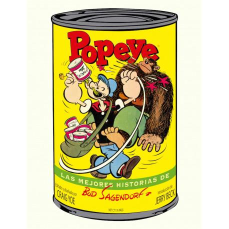 Cómics Popeye , Las Mejores Historias de Bud  Sagendorf