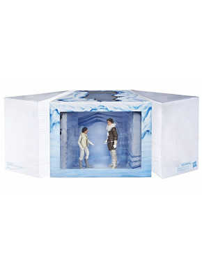Figura Diorama Leia & Han Star Wars