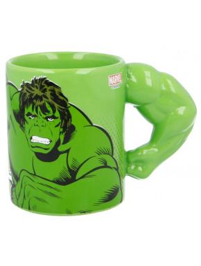 Taza 3D Hulk Marvel Brazo
