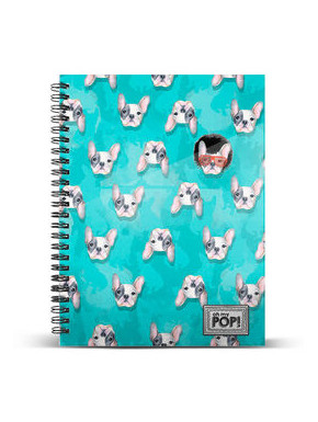 Libreta A5 Doggy OH MY POP