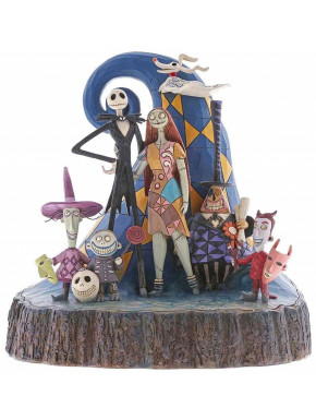 Figura Pesadilla Antes de Navidad Jim Shore 20 cm Wonderful Nightmare