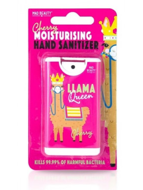 Higienizador de manos Fresa Llama Queen Mad Beauty