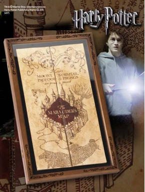 Pack Mapa Merodeador + Expositor Harry Potter