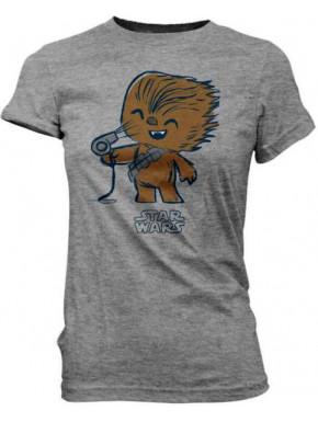 Camiseta Chica Star Wars Chewie Secador