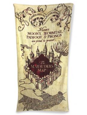 Toalla Harry Potter Mapa Merodeador