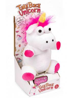 Peluche Parlante Unicornio 20 cm