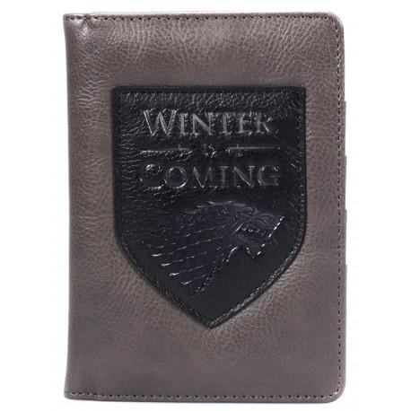 Porta Pasaporte Winter is Coming Juego de Tronos