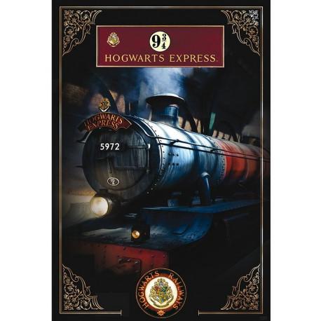 Póster Hogwarts Express Harry Potter