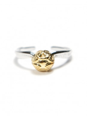 Anillo Snitch dorada plata de ley Harry Potter