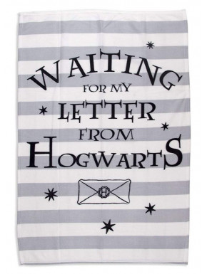 Manta polar Carta Hogwarts Harry Potter