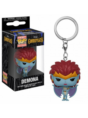 Llavero mini Funko Pop! Demona Gárgolas Disney