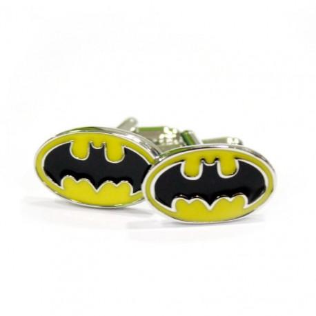 Gemelos Batman logo classic acero