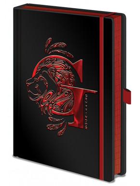 Libreta Premium A5 Harry Potter Gryffindor Foil