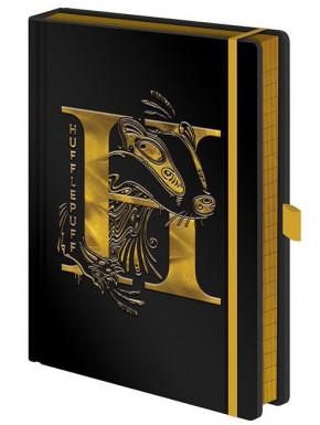 Libreta Premium A5 Harry Potter Hufflepuff Foil