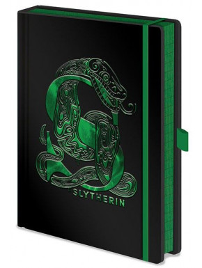 Libreta Premium A5 Harry Potter Slytherin Foil