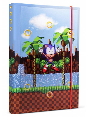 Libreta Sonic The Hedgehog A5