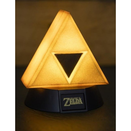 Mini Lámpara 3D Zelda Trifuerza Gold 10 cm