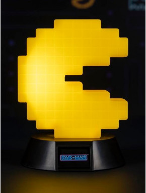 Lámpara mini Pac-Man 10 cm