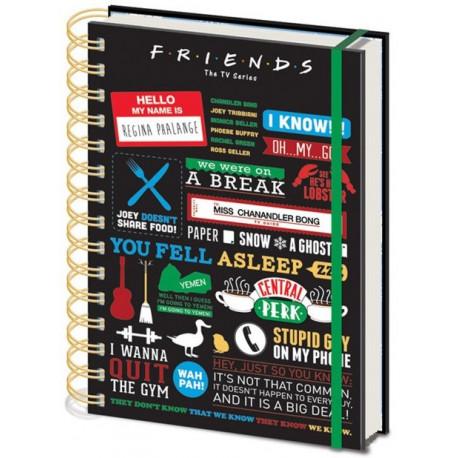 Libreta Friends Grandes Momentos