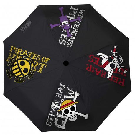 Paraguas One Piece Emblemas Piratas