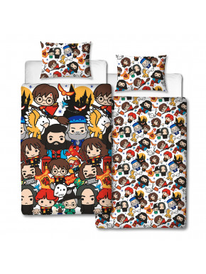 Funda Nórdica Personajes Harry Potter Kawaii