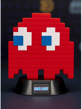 Lámpara mini Pac-Man Blinky Red 10 cm