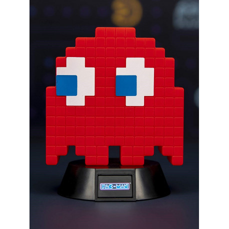 Lámpara mini Pac-Man Blinky Red 10 cm