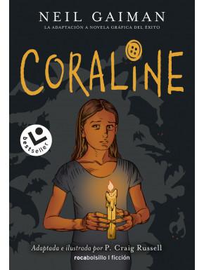 Libro Coraline Novela Gráfica