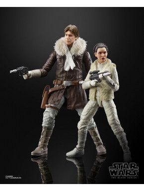Set de Figuras y Diorama Leia & Han Star Wars Hasbro The Black Series