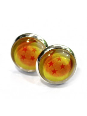 Pendientes Dragon Ball Bola 4