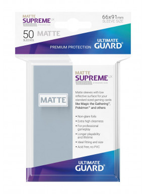Fundas de cartas Supreme estándar mate para 50 unidades