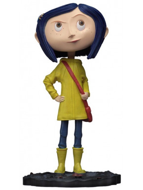 Figura Coraline Head Knockers NECA 18 cm