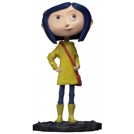 Figura Coraline Head Knockers NECA 18 cm