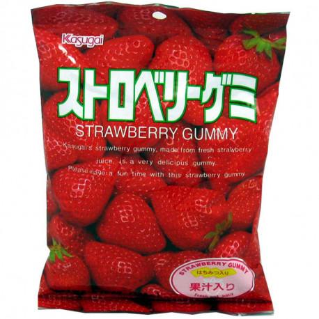 Caramelos de Fresa Kasugai Seika