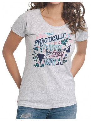 Camiseta Chica Disney Mary Poppins Practicamente Perfecta
