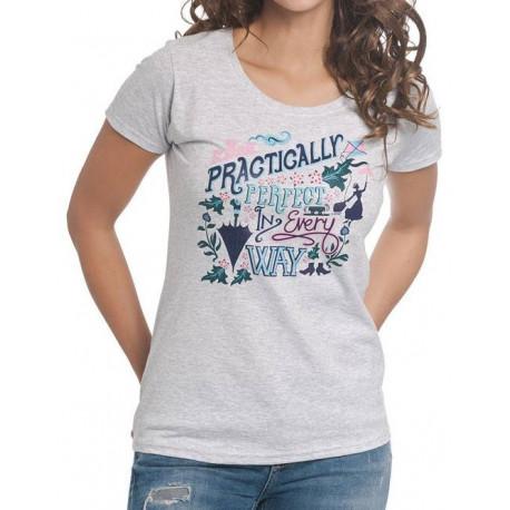 Camiseta Chica Disney Mary Poppins Practicamente Perfecta