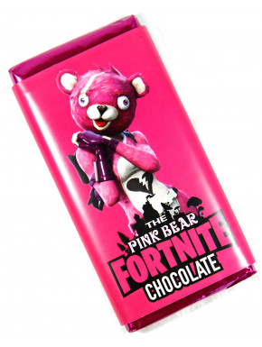 Chocolate Pink Bear Fortnite