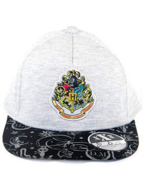 Gorra Harry Potter Hogwarts Gris