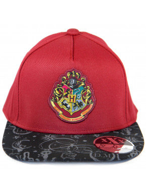 Gorra Harry Potter Hogwarts Granate
