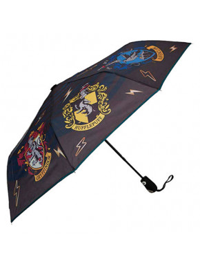 Paraguas Plegable Harry Potter Escudos