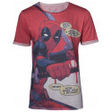 Camiseta Deadpool Cómic Marvel