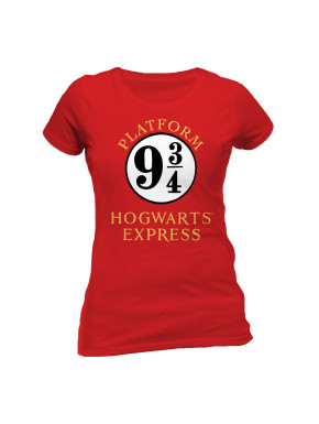 Camiseta Chica Hogwarts Express Harry Potter