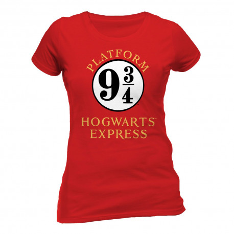 64f6732cf Camiseta Chica 9 y 3/4 Harry Potter solo 16,90€ - lafrikileria.com