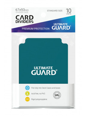 Tarjetas separadoras para cartas tamaño estándar Ultimate Guard 10
