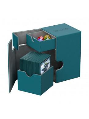 Caja Deluxe Cartas estándar Ultimate Guard 100 Azul verdoso