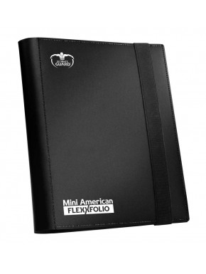 Carpeta para cartas Mini American Ultimate Guard Negro