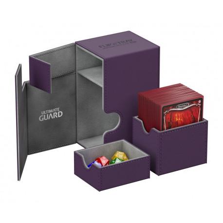 Caja Deluxe Cartas estándar Ultimate Guard 80 Morado