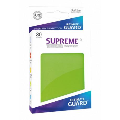 Fundas de cartas tamaño estándar Verde claro Ultimate Guard