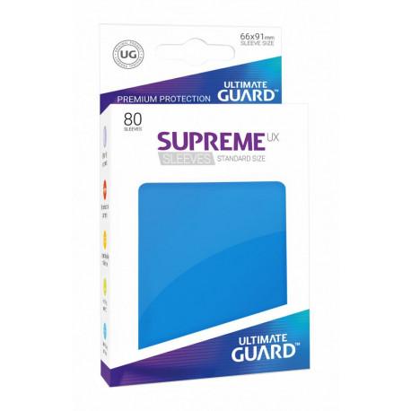 Fundas de cartas tamaño estándar Azul Ultimate Guard 80